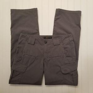 5.11 Tactical Gray Pants Sz 8 Regular